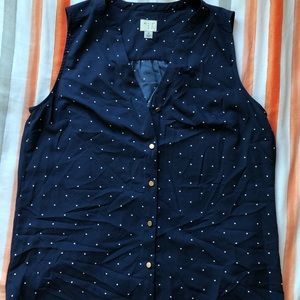 Andeawy buttoned tank